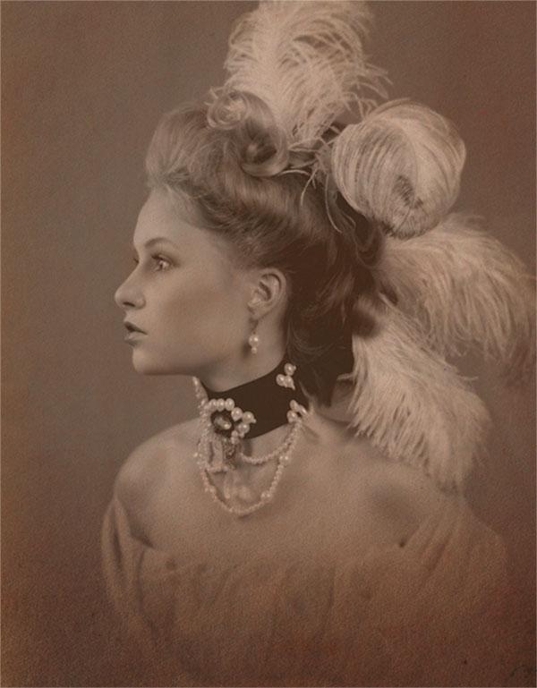 прически 18 века фото при домашних условиях