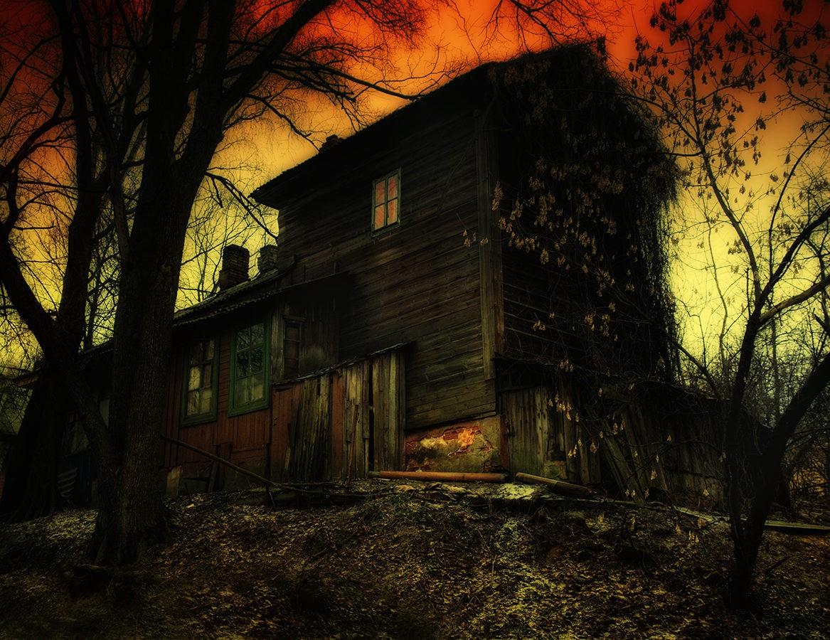 Дома призраки фото картинки